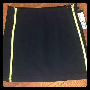 LF Margery Neon Double Zip Skirt